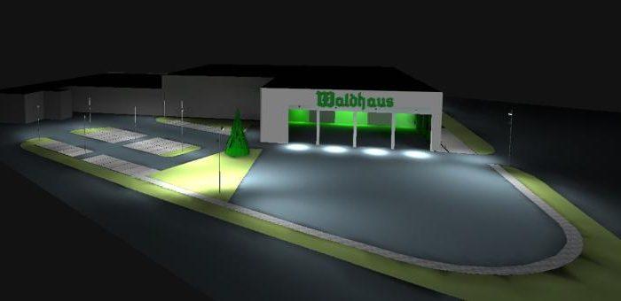 Waldhaus Privatbrauerei Logistikzentrum Neubau-von Malm-Licht und Gestaltung-Freiburg-Lichtplanung-Lichtgestaltung-Lichtdesign