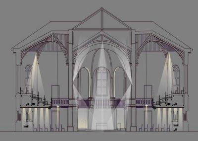 Evang. Christuskirche-von Malm-Licht und Gestaltung-Freiburg-Lichtplanung-Lichtgestaltung-Lichtdesign