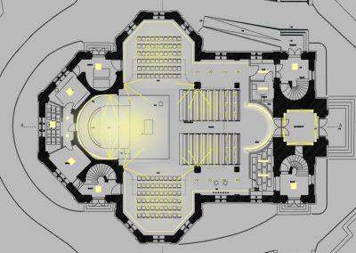 Evang. Christuskirche Freiburg-von Malm-Licht und Gestaltung-Freiburg-Lichtplanung-Lichtgestaltung-Lichtdesign